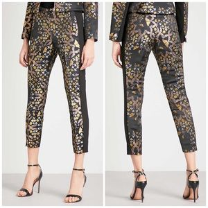 Ted Baker Kyoto Gardens Butterfly Brocade Trousers